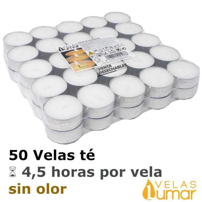 50 velas té 11g - Lumar