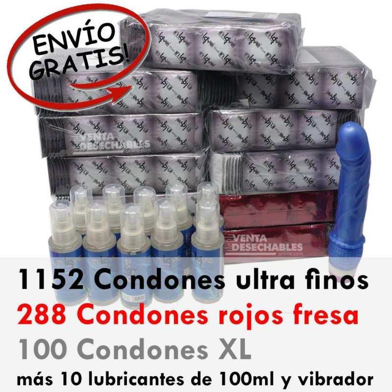 super oferta de preservativos