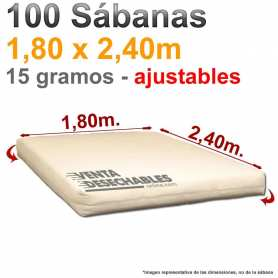 Sábanas ajustables 180 x 240 cama grande