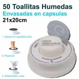 Toallitas Húmedas En Capsulas