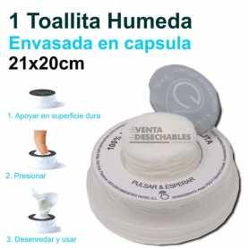 1 Toallita Húmeda En Cápsula