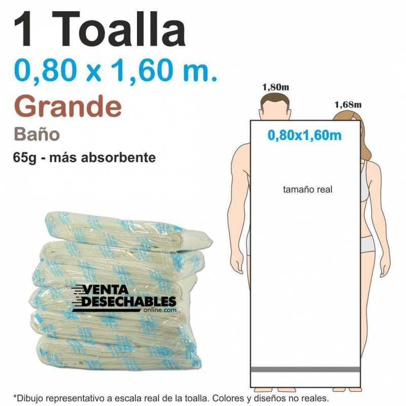 toalla desechable grande