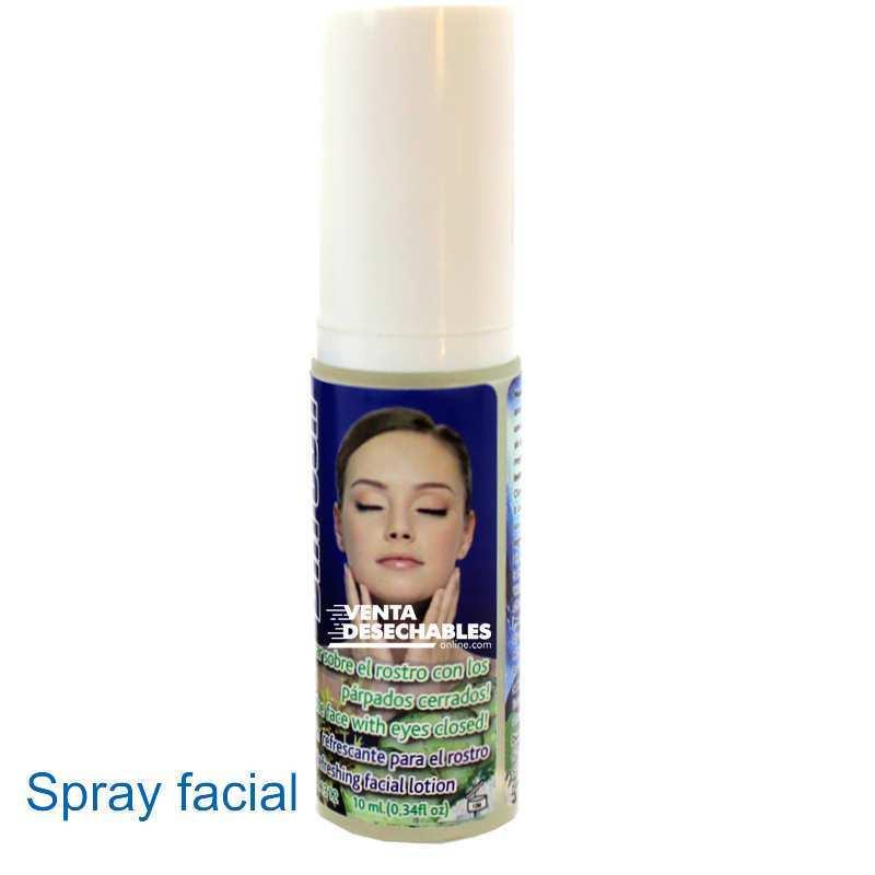 Spray Facial Y Ojos Rojos Cansados