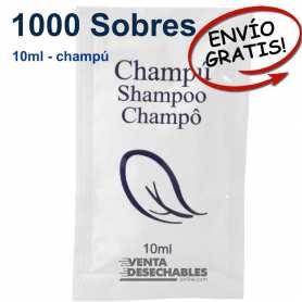 100 Sobres Champú Monodosis 10 ml