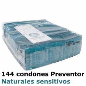 Bolsa 144 Condones Preventor 185x52 Classic