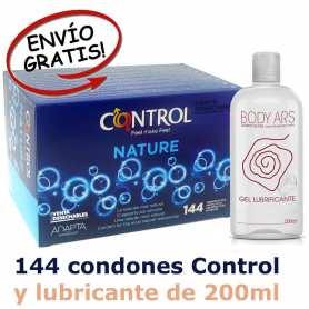 Oferta Condones Control y Lubricante Body Ars