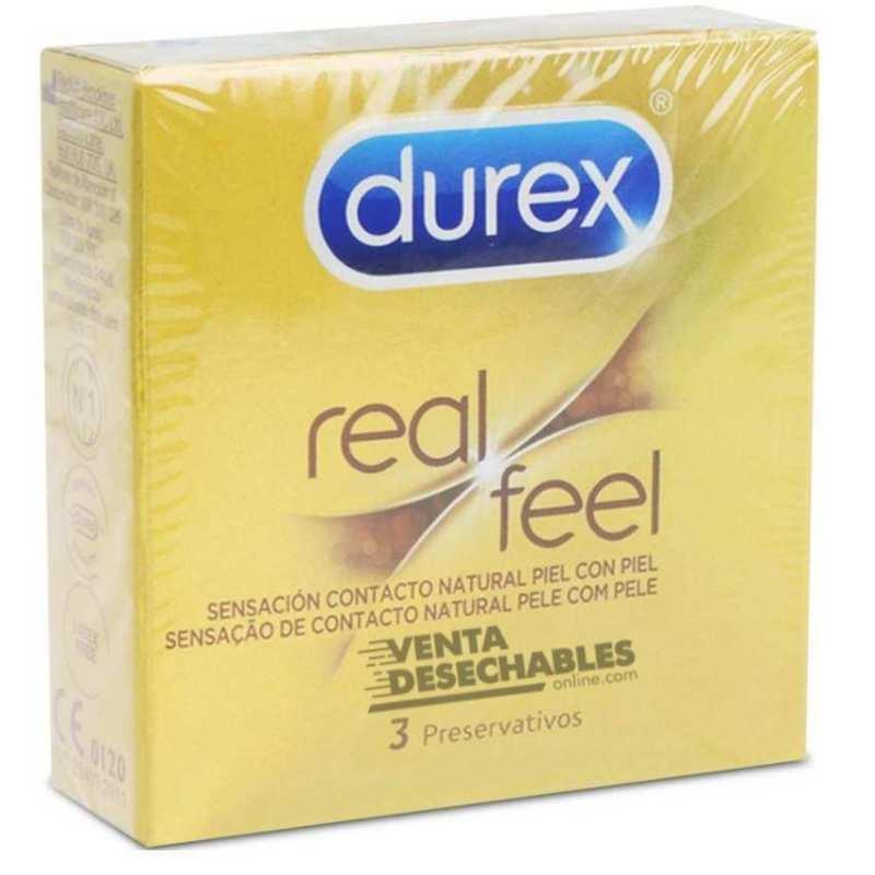 Preservativos Durex Real Feel Vending