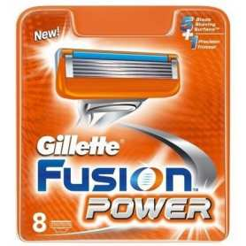 8 Cuchillas Gillette Fusion Power
