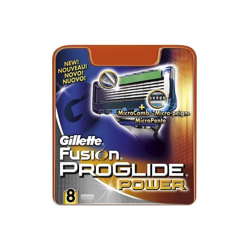 8 Cuchillas Fusion Proglide Power