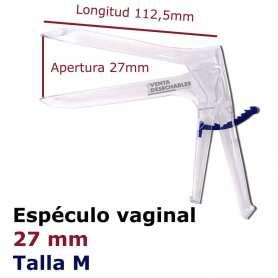 Espéculo Ginecológico Desechable Vaginal Talla M
