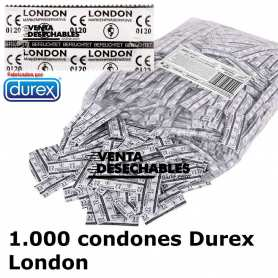 1000 Preservativos London Natural