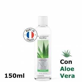 Gel Masaje Nuru Alga & Aloe Vera 150 ml - Mixgliss
