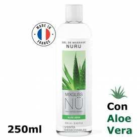 Gel Masaje Nuru Alga & Aloe Vera 250 ml - Mixgliss