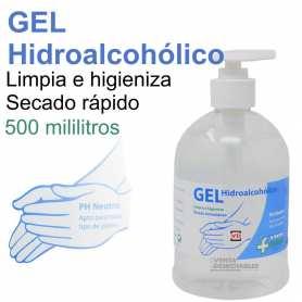 Gel Hidroalcohólico Con Dosificador 500 ml