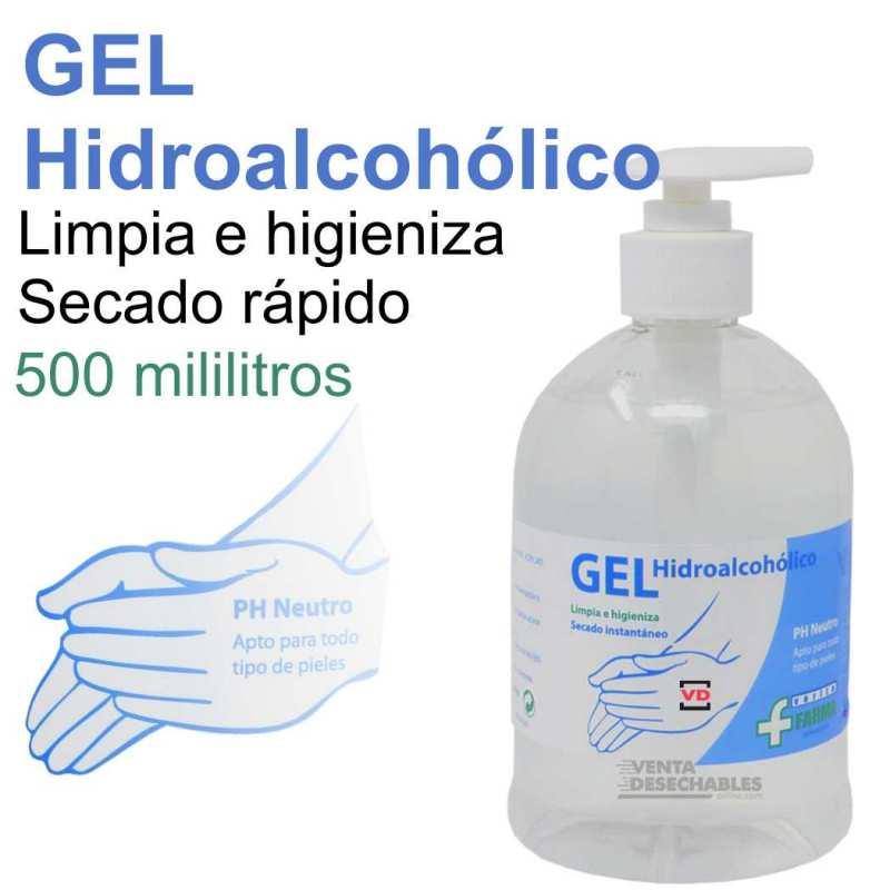 Gel Hidroalcohólico Para Desinfección De Manos