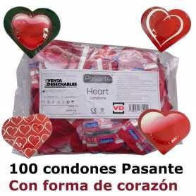 Preservativos Pasante Heart 180x54 mm Corazón