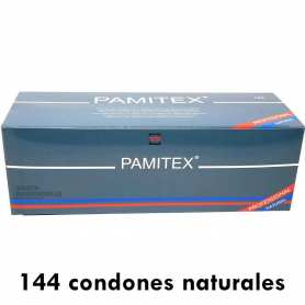 144 Preservativos Pamitex Natural 200x53mm