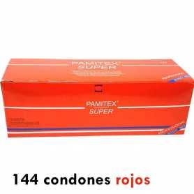 Condones Pamitex Rojos