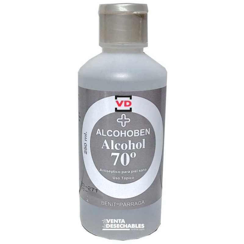 Alcohol 70º 250 ml - Alcohoben
