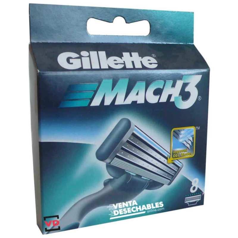 Cuchillas Mach3 Gillette