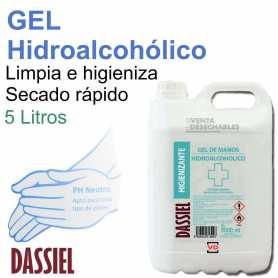 Gel Hidroalcohólico 5 Litros Para Manos Desinfectante
