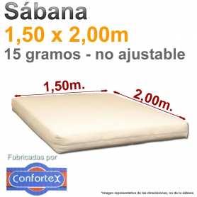 1 Sábana Desechable 1,50x2,00m. Confortex