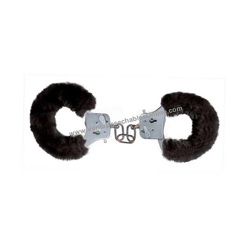 """Esposas del amor """"Furry Fun Cuffs"""" Negro"""