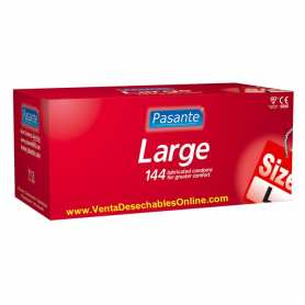 144 Preservativos Pasante 190x50 mm Largo