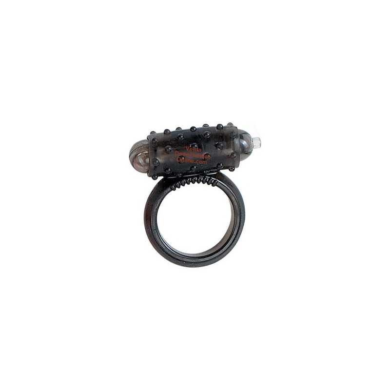 Anillo Vibrador Estimulador Clítoris Negro