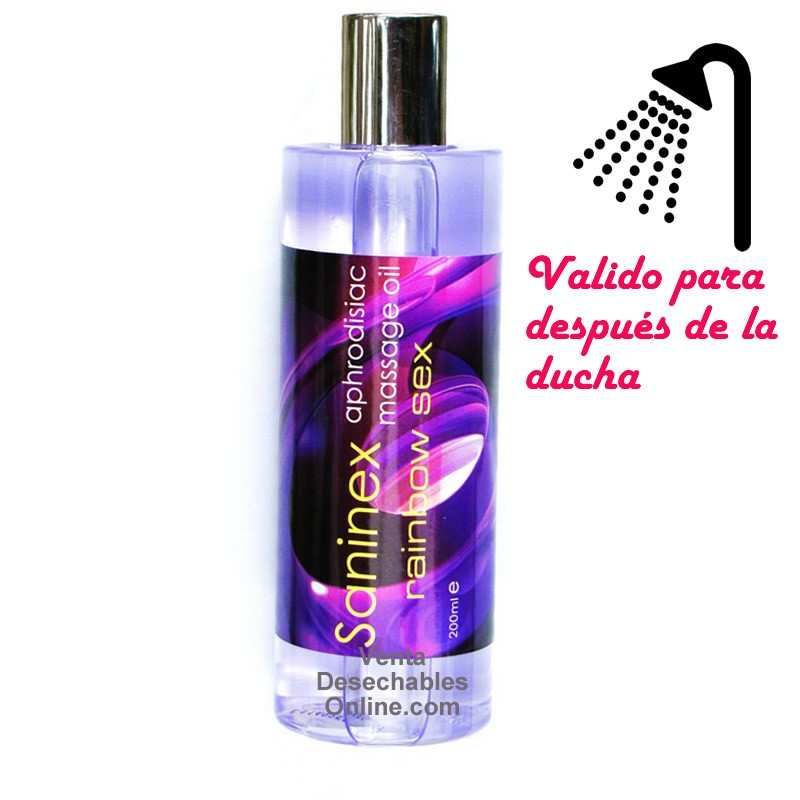 Aceite Rainbow Sex 200ml Saninex