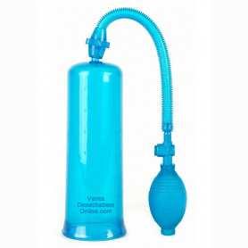 Bomba de erección 22x8 cm Azul