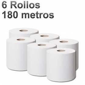 6 Rollos Mecha 180 Metros x 21 Cm