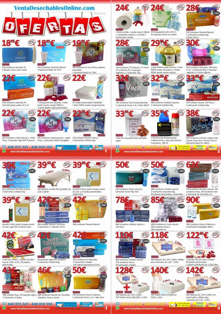 ofertas packs ofertas mayo 2018