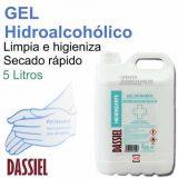 Gel Hidroalcohólico Manos Desinfectante 5 Litros