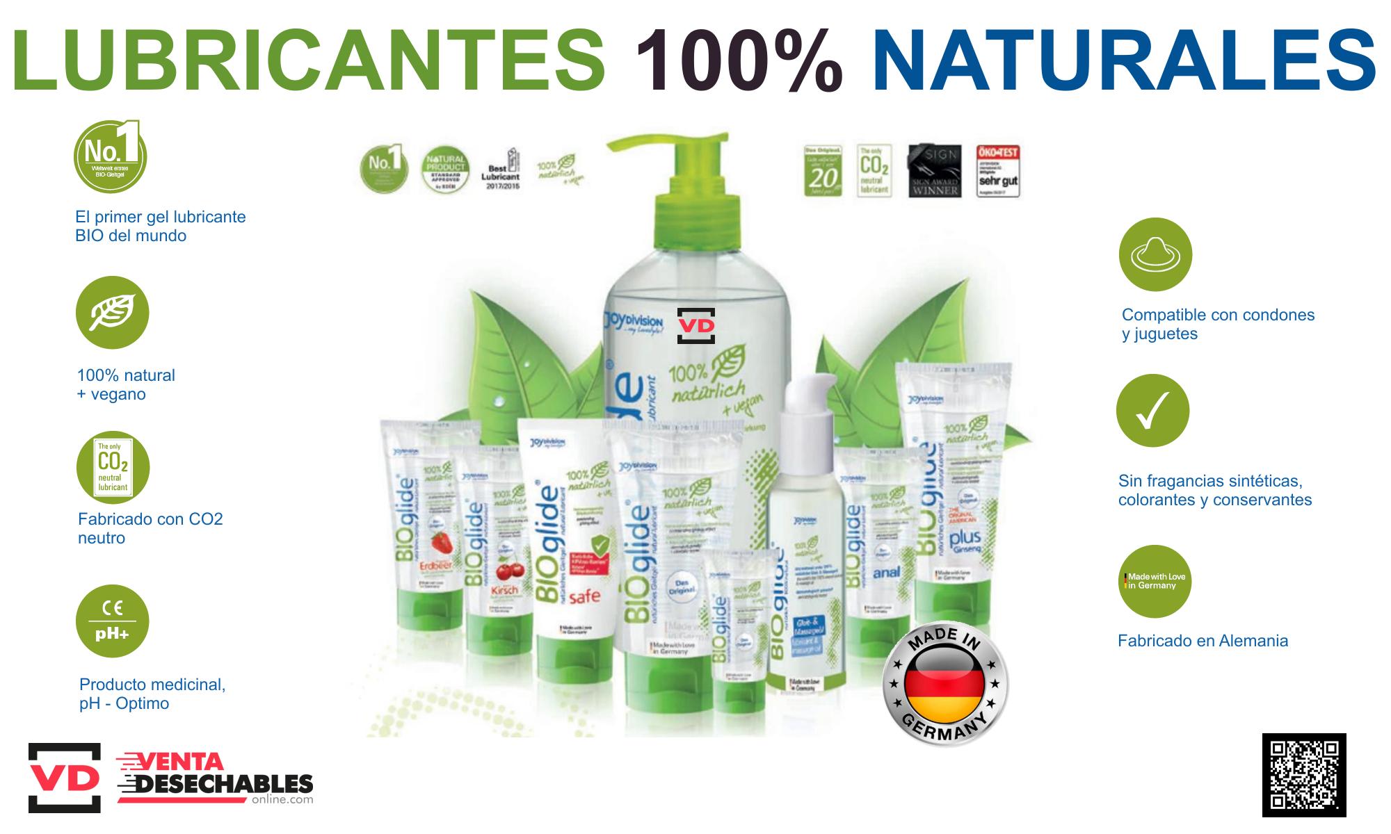 Bioglide lubricante natural
