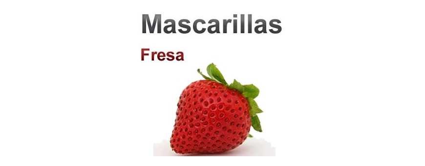 Mascarillas - Máscaras Fresa