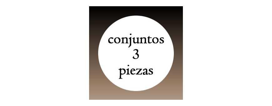 Conjuntos 3 Piezas